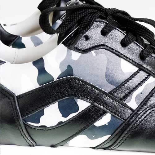 Нанесения паттерна или фирменной графики на обувь прямой печатью